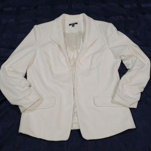 Premise structured knit jacket